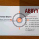 Android-приложение ABBYY Business Card Reader обновилось